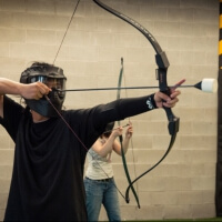 Hen Combat Archery in Bournemouth