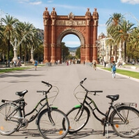 Stag Bike Tour in Barcelona