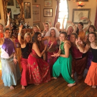 Hen Bollywood Dancing in Bath