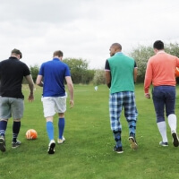 Stag Foot Golf in Amsterdam
