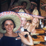 Hen Mexican Theme Night