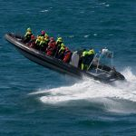 Hen Powerboat Thriller in Newcastle