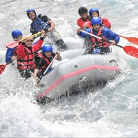 Party White Water Rafting