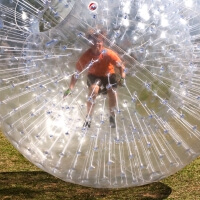 Stag Zorbing in Bournemouth