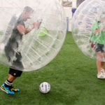 Ideas for Birthday Do Weekends Bubble Football Weekender in Essex
