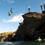 Cliff Hanger in Newquay