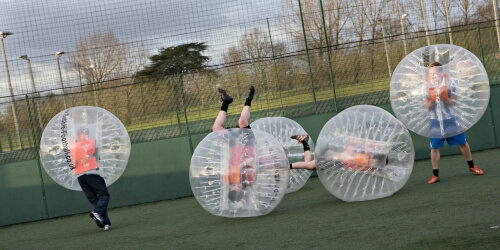 Cambridge Stag Activities Bubble Football