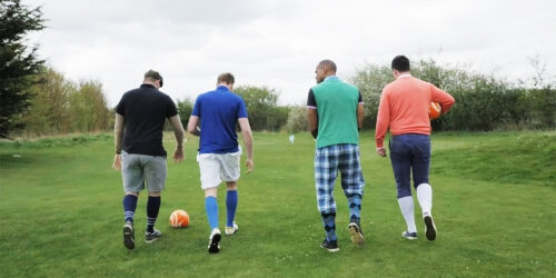 Liverpool Stag Activities Foot Golf