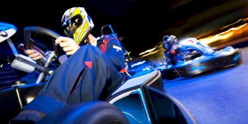 Manchester Birthday Activities Go Karting Indoor