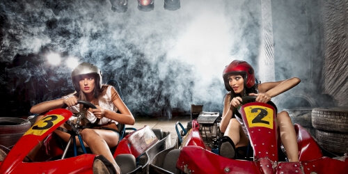 Hen party activity ideas Karting Queens