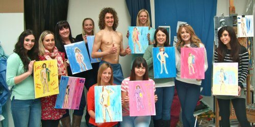 Manchester Birthday Activities Nude Life Drawing