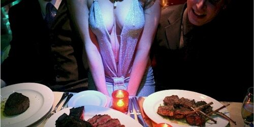 Dinner and Strip