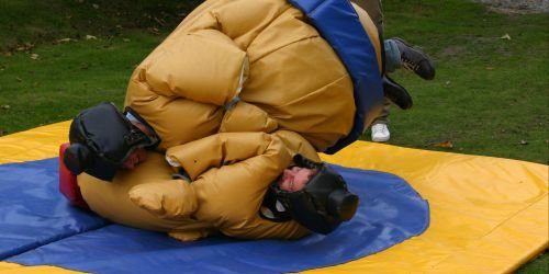 Bournemouth Party Activities Sumo Wrestling