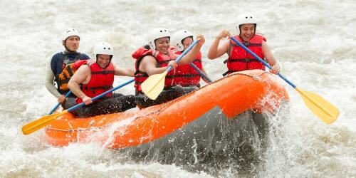 Cardiff Birthday Activities White Water Rafting