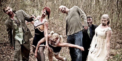 Birmingham Birthday Activities Zombie Boot Camp