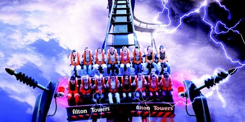 Alton Towers Birthday Theme Weekend Package Deal