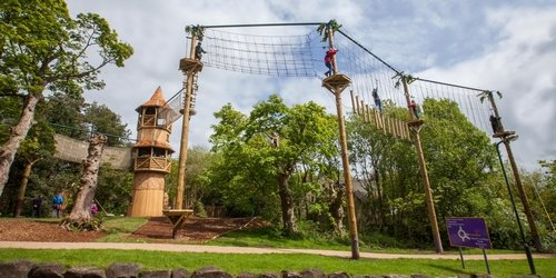 Alton Towers Birthday Splash and Swing Package Deal