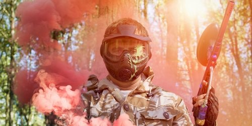 Edinburgh Stag Paintball Pyro and Lap Dance Package Deal