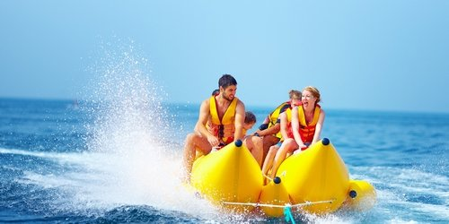 Madrid Party Banana Jetski Summer Package Deal