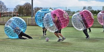 Birmingham Stag Activities Bubble Football