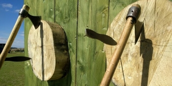 Nottingham Birthday Activities Axe Throwing