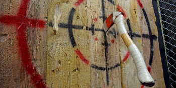 Brighton Hen Activities Axe Throwing