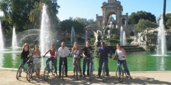 Barcelona Hen Activities Bike Tour