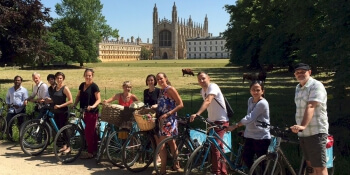 Cambridge Party Activities Bike Tour
