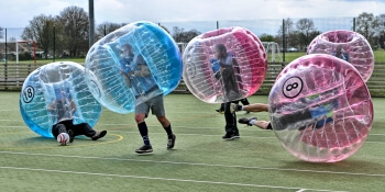 Birthday Activities Bubble Football