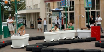 Party Activities Motorised Bath Tubs