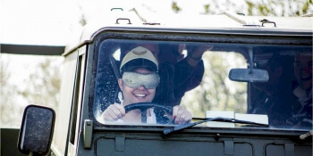 Reading Birthday Activities Blindfold Driving