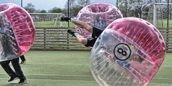 Barcelona Stag Activities Bubble Football