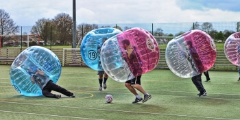Madrid Stag Activities Bubble Football