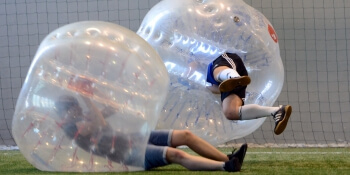 Leeds Stag Activities Bubble Football