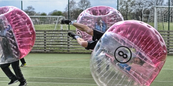 Brighton Stag Activities Bubble Football