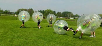 Cambridge Party Activities Bubble Football