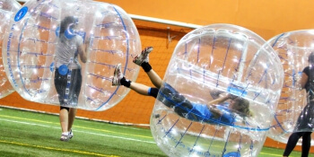 Budapest Birthday Activities Bubble Football