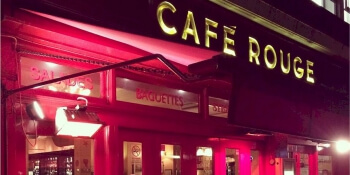 Party Activities Cafe Rouge