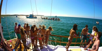 Benidorm Hen Activities Catamaran Cruise