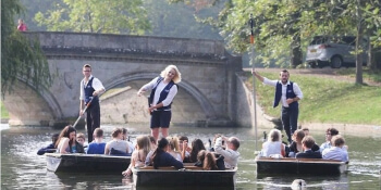 Cambridge Party Activities Champagne Punt