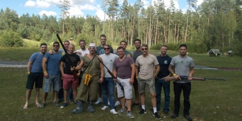 Riga Birthday Activities Clay Pigeon Shooting