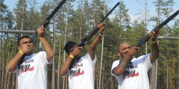Riga Stag Activities Clay Pigeon Shooting