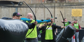 Nottingham Birthday Activities Combat Archery