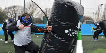 Liverpool Party Activities Combat Archery