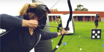 London Hen Activities Combat Archery