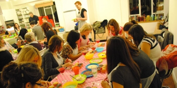 Manchester Party Activities Cupcake Decorating