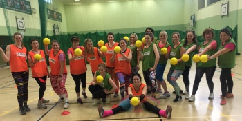 Alton Towers Hen Activities Dodgeball