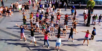 Birthday Activities Flash Mob Dance