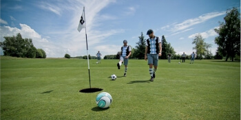 Nottingham Birthday Activities Foot Golf