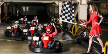 Glasgow Party Activities Go Karting Indoor